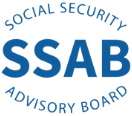 SSAB logo with blue letters on white background