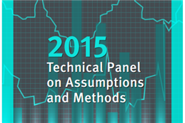 2015 Technical Panel on Assumptions title graphic