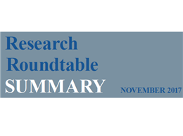 Research Roundtable Summary title graphic